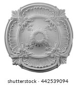 plaster round outlet on a... | Shutterstock . vector #442539094