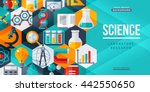 science laboratory research... | Shutterstock .eps vector #442550650