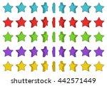 cartoon rotation of the star....