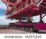 load out topside or top of... | Shutterstock . vector #442571524