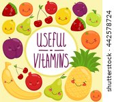 vector illustration set of... | Shutterstock .eps vector #442578724