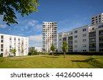 Apartment Buildings In The Cit...