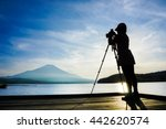 Girl Photographer Take A Photo...