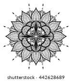 compass. | Shutterstock .eps vector #442628689