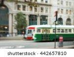 trolleybus   Shutterstock . vector #442657810