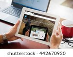 bangkok  thailand   june 20... | Shutterstock . vector #442670920