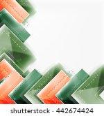 arrow background. vector web...   Shutterstock .eps vector #442674424