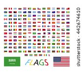 flags set icon | Shutterstock .eps vector #442674610