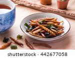 Fried Insects   Bamboo Worm...