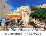 symi island  greece   june 11 ... | Shutterstock . vector #442679233