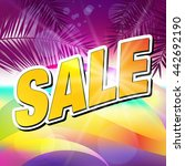 sale. | Shutterstock .eps vector #442692190