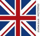 flag icon. united kingdom... | Shutterstock .eps vector #442705963