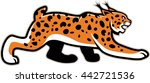 vector isolated lynx wildcat... | Shutterstock .eps vector #442721536