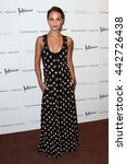 """Small photo of NEW YORK, NY-JUNE 2: Actress Alicia Vikander attends the """"Testament of Youth"""" New York premiere at Bow Tie Chelsea Cinemas on June 2, 2015 in New York City."""