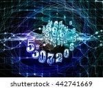 digital swirl series....   Shutterstock . vector #442741669