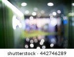blur shopping mall background... | Shutterstock . vector #442746289