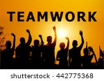 cooperate for successful work | Shutterstock . vector #442775368