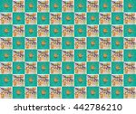 background of the gifts. gifts... | Shutterstock . vector #442786210
