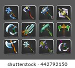set of decoration icons for... | Shutterstock .eps vector #442792150