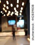 Small photo of Light blur,Blur background, Blur shopping mall