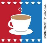 american coffee | Shutterstock . vector #442864666