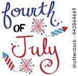 4th of july celebration | Shutterstock . vector #442864669