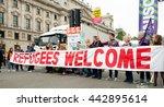 london  uk. 18th june 2016.... | Shutterstock . vector #442895614