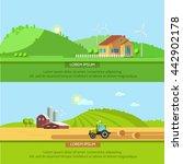 set vector illustration... | Shutterstock .eps vector #442902178