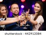 party  holidays  celebration ... | Shutterstock . vector #442912084