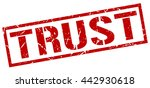 trust stamp.stamp.sign.trust. | Shutterstock .eps vector #442930618