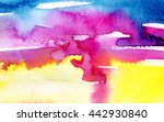 macro wash watercolor... | Shutterstock . vector #442930840