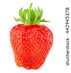 Strawberry Isolated On The...