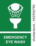 emergency eye wash  safe...