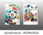 Template design, Abstract Modern Backgrounds   Shutterstock vector #442961914