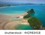 emerald sea | Shutterstock . vector #442983418