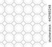 gray and white geometric... | Shutterstock .eps vector #442985248