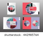 template design  layout... | Shutterstock .eps vector #442985764