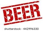 beer stamp.stamp.sign.beer. | Shutterstock .eps vector #442996330