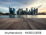 singapore skyline and cityscape | Shutterstock . vector #443011858