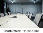business meeting room or board... | Shutterstock . vector #443014600