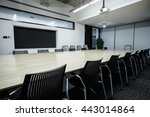 business meeting room or board... | Shutterstock . vector #443014864