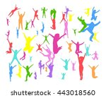 success concept united... | Shutterstock .eps vector #443018560