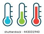 vector illustration of three... | Shutterstock .eps vector #443031940