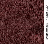 dark red leather background ... | Shutterstock . vector #443058664