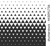 vector halftone abstract... | Shutterstock .eps vector #443091736
