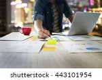startup business people using...   Shutterstock . vector #443101954