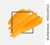 art abstract background brush... | Shutterstock .eps vector #443116513