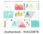 set of infographic elements... | Shutterstock .eps vector #443120878
