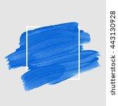 art abstract background brush... | Shutterstock .eps vector #443130928