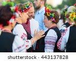 klaipeda  lithuania   23 june...   Shutterstock . vector #443137828